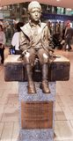 Chłopiec statua obrazy stock