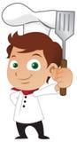 chłopiec szef kuchni Zdjęcia Stock