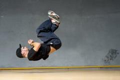 Chłopiec tancerz Zdjęcia Royalty Free