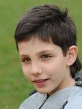 chłopiec target1108_0_ Zdjęcia Stock