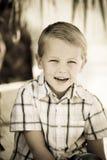 chłopiec target3259_0_ Zdjęcie Royalty Free