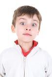 Chłopiec twarze Zdjęcia Royalty Free