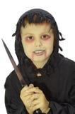 Chłopiec w Halloween Obraz Royalty Free