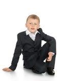Chłopiec w kostiumu Zdjęcia Royalty Free