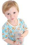 chłopiec woda obraz stock
