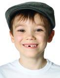 Chłopiec z kapeluszem Fotografia Royalty Free