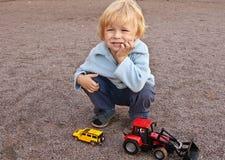 chłopiec zabawki Zdjęcia Stock