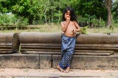 Chłopiec Zrelaksowana postura Obrazy Stock