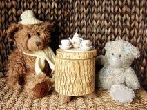 Chá-partido Imagens de Stock Royalty Free