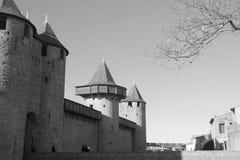 Ch?teau de Carcassonne photos stock