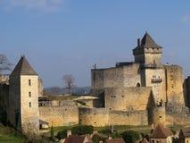 The Château de Castelnaud Royalty Free Stock Images