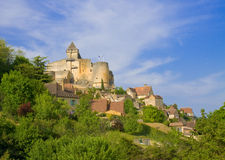 The Château de Castelnaud, Perigord Stock Image