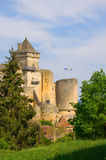 The Château de Castelnaud, Perigord, France Royalty Free Stock Photography