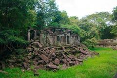 Ch?teau de Mealea de bondon, royaume de Khmer image libre de droits
