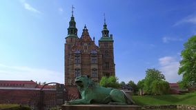 Ch?teau de Rosenborg, Copenhague, Danemark clips vidéos