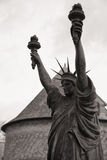 Château de Vascoeuil Victoire Statue of Liberty Stock Photos