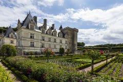 Château de Villandry, Indre-et-Loire, France Stock Images