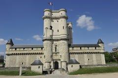 Chateau de Vincennes near Paris, France Royalty Free Stock Photo