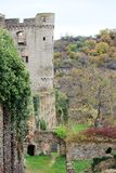 Ch?teau le Rhin dans Sankt Goar, Allemagne photo stock