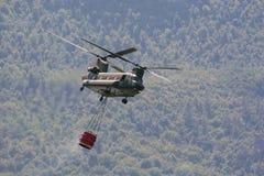CH47 chinook helikopter Royalty-vrije Stock Afbeeldingen
