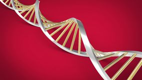 Chaîne d'ADN Image stock