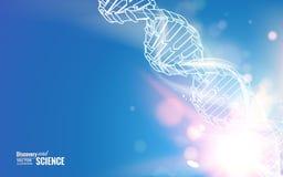 Chaîne d'ADN illustration de vecteur