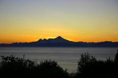 Chaîne d'Alaska Images libres de droits