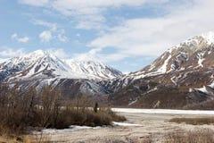 Chaîne d'Alaska Photographie stock