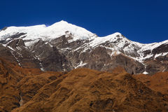 Chaîne d'Annapurna Photo libre de droits