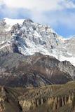 Chaîne d'Annapurna Image libre de droits