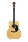 chaîne de caractères d'acier de guitare acoustique Photographie stock libre de droits