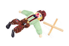 chaîne de caractères de marionnette Images libres de droits