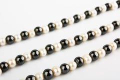 Chaîne de caractères des perles Photo stock