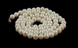 Chaîne de caractères des perles Images libres de droits