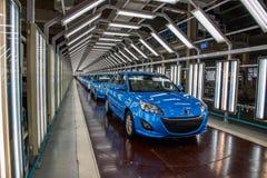 Chaîne de montage de voiture de Changan de branche de Pékin d'automobile de Changan Photo stock