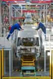 Chaîne de montage de voiture Ford Sollers Photo stock