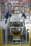 Chaîne de montage de voiture Ford Sollers Photos libres de droits