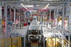Chaîne de montage de voiture Ford Sollers Images stock