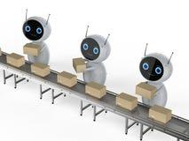 Chaîne de montage de robot