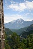 Chaîne de montagne Image stock