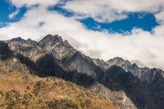 Chaîne de montagne photo libre de droits