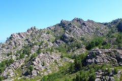 Chaîne de montagne Photos stock