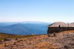 Chaîne de montagne au Portugal Photos libres de droits