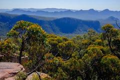 Chaîne de montagne, couche par la couche II Photographie stock libre de droits