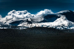 Chaîne de montagne de Bighorn Wyoming photos stock