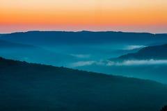 Chaîne de montagne de Boston Images libres de droits