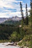 Chaîne de montagne de l'Alaska de Denali image stock