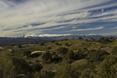 Chaîne de montagne de Milou Madrid Photographie stock