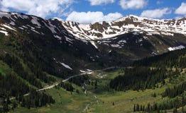 Chaîne de montagne du Colorado images libres de droits