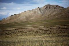 Chaîne de montagne mongole image libre de droits